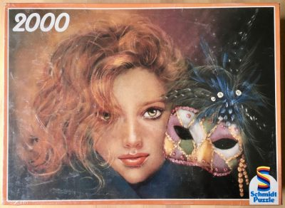 Image of the puzzle 2000, Schmidt, Magic Mask, by Joy Caros, Factory Sealed
