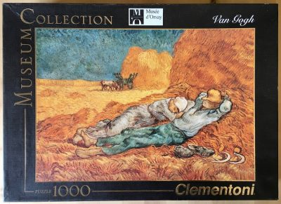 1000, Clementoni, The Siesta, by Vincent van Gogh, Picture of the box