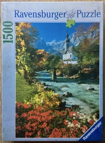 Image of the puzzle 1500, Ravensburger, Ramsau against Reiteralpe Mountain, Factory Sealed