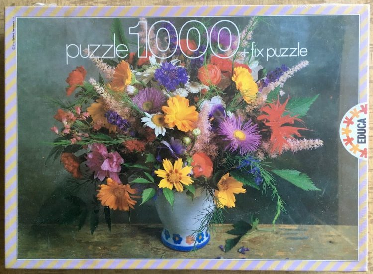 Image of the puzzle 1000, Educa, The Language of Flowers, Factory Sealed