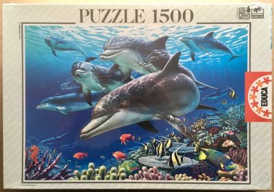 Image of the puzzle 1500, Educa, Paradise under the Sea, by Royce B. McClure, Factory Sealed