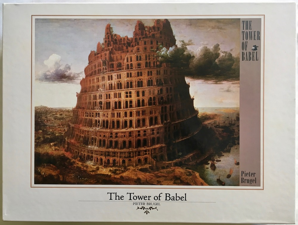 3000 Central Hobby The Tower Of Babel Bruegel Rare Puzzles