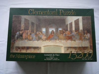 Image of the puzzle 13200, Clementoni The Last Supper, by Leonardo da Vinci, Picture of the box