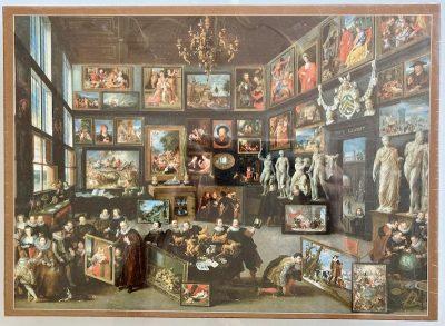 Image of the puzzle 1000, Puzzelman, The Gallery of Cornelis van der Geest, by Willem van Haecht, Factory Sealed