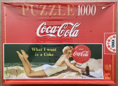 Image of the puzzle 1000, Educa, Coca Cola, Factory Sealed