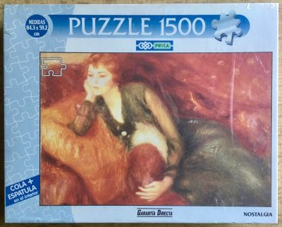 Image of the puzzle 1000, PRYCA, Nostalgia, by an Unknown Artist, Factory Sealed