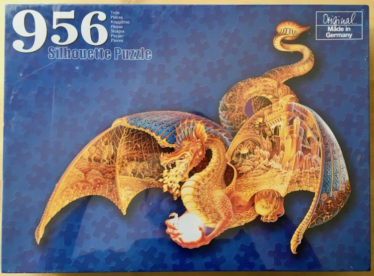 Image of the puzzle 956, Lidl, Fire Dragon, by Sally J. Smith, Factory Sealed