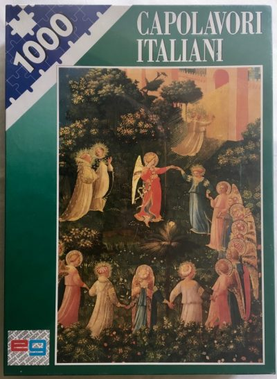 Image of the puzzle 1500, Editrice Giochi, The Last Judgement, by Fra Angelico, Factory Sealed