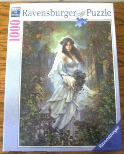 Image of the puzzle 1000, Ravensburger, Dark Romance, by Eckhardt Freytag, Factory Sealed