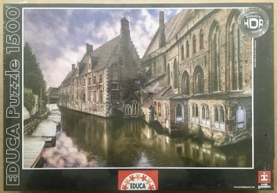 Image of the puzzle 1500, Educa, Bruges, Belgium, Factory Sealed
