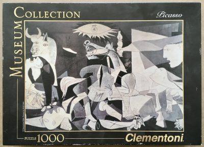 Image of the puzzle 1000, Clementoni, Guernica, by Pablo Picasso, Sealed Bag, Picture of the box
