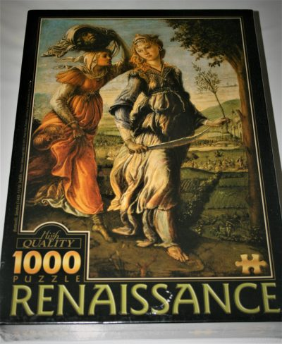 Image of the puzzle 1000, D-Toys, Judith, by Sandro Botticelli, Factory Sealed