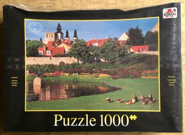 Image of the puzzle 1000, Borrás, Gotland, Sweden, Factory Sealed