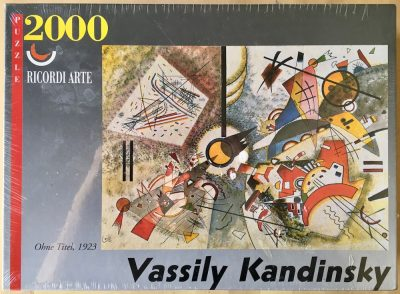 Image of the puzzle 2000, Ricordi, No Title 1923, by Wassily Kandinsky, Factory Sealed