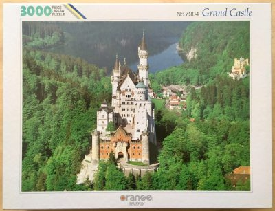 Image of the puzzle 3000, Beverly, Grand Castle, Sealed Bag, Picture of the box