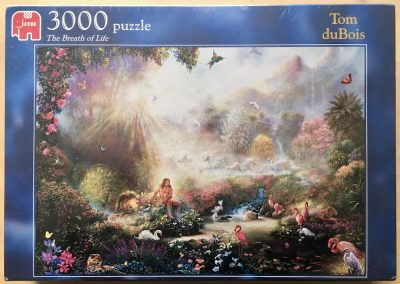 Image of the puzzle 3000, Jumbo, The Breath of Life, by Tom duBois, Factory Sealed
