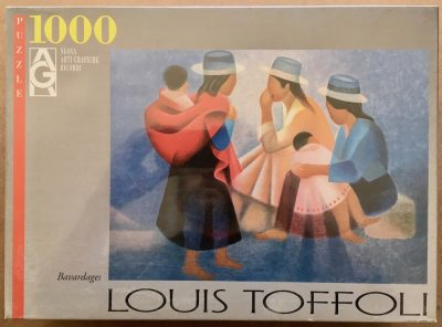 Image of the puzzle 1000, Ricordi, Bavardages, by Louis Toffoli, Factory Sealed
