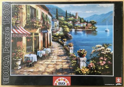 Image of the puzzle 1500, Educa, Overlook Cafe, by Sung Kim, Factory Sealed