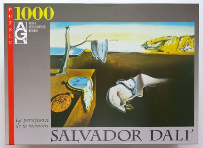 Image of the puzzle 1000, Educa, The Persistence of Memory, by Salvador Dalí, Complete