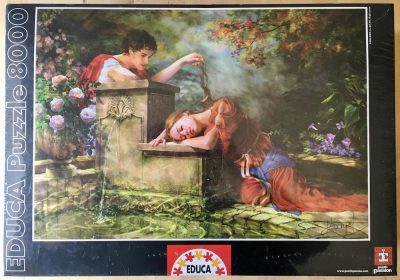 Image of the puzzle 8000, Educa, While She Was Sleeping, Factory Sealed, Listed by Jorge