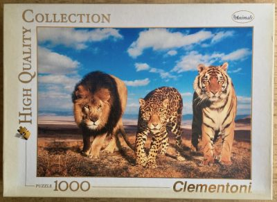 Image of the puzzle 1000, Clementoni, Wild Life, Complete, Picture of the box