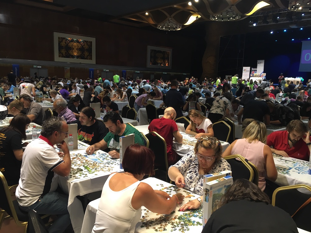 Image of the Puzzle Competition in Spain, June 15, 2019