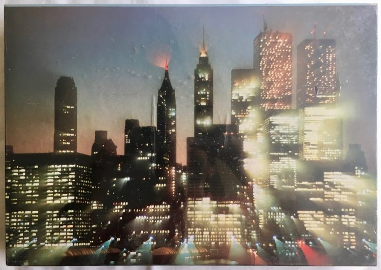 Image of the puzzle 2000, International Team, Manhattan, Factory Sealed