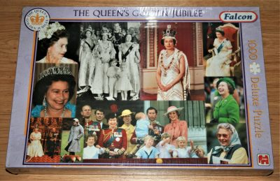 Image of the puzzle 1000, Falcon, The Queens Golden Jubilee, Factory Sealed