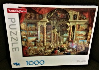 Image of the puzzle 1000 Waddingtons, Gallery of Views of Modern Rome, by Panini