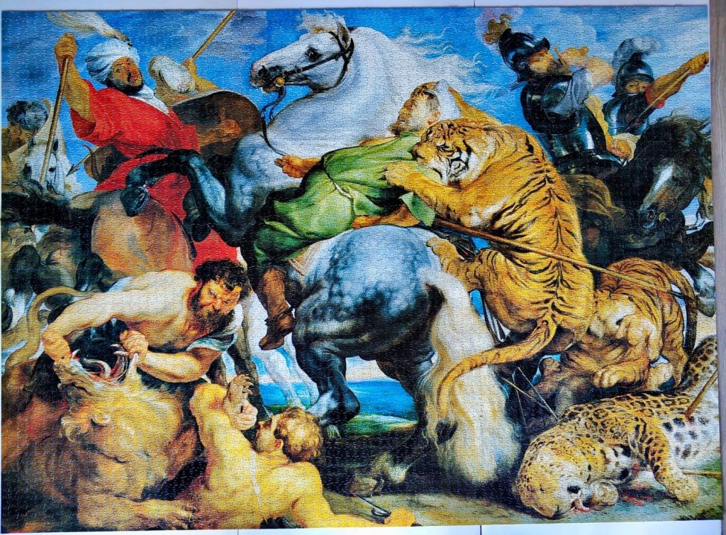 Image of the complete 5000, MB, The Tiger Hunt