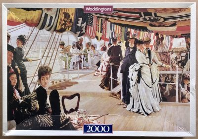 Image of the puzzle 2000, Waddingtons, The Ball on Shipboard, by James Tissot, Sealed Bag, Picture of the box