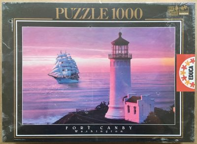 Image of the puzzle 1000, Educa, Fort Canby State Park, Washington, Factory Sealed