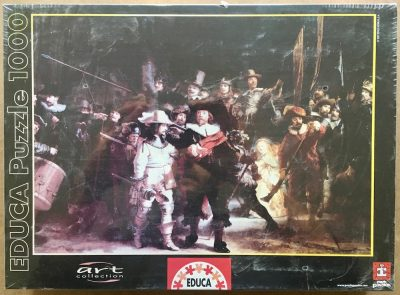 Image of the puzzle 1000, Educa, The Night Watch, by Rembrandt, Factory Sealed