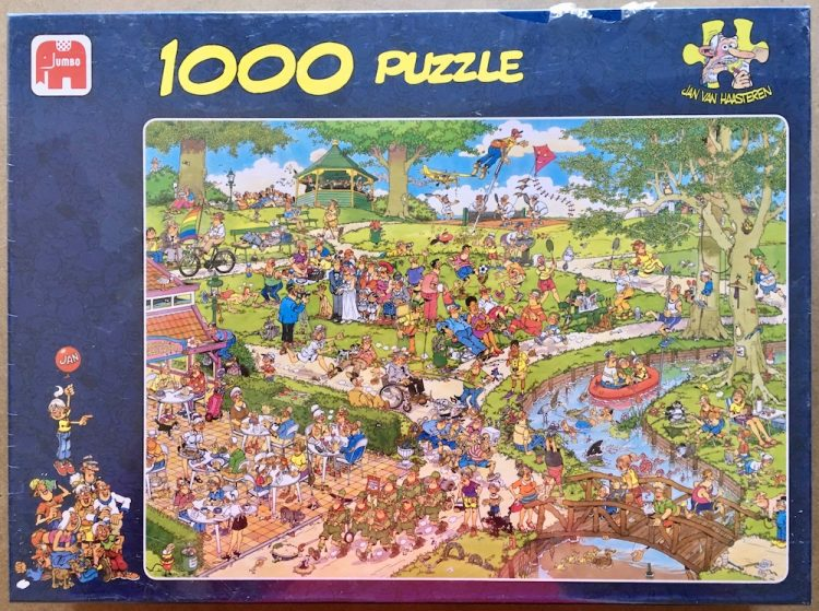 Image of the puzzle 1000, Jumbo, The Park, by Jan van Haasteren, Factory Sealed