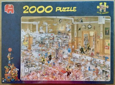 Image of the puzzle 2000, Jumbo, The Kitchen, by Jan van Haasteren, Factory Sealed