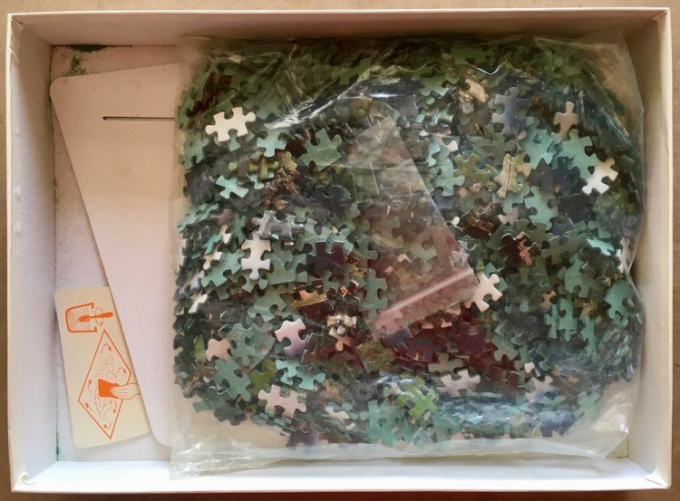 Image of the puzzle 1000, Educa, Machu Picchu, Peru, Complete, Picture of the bag