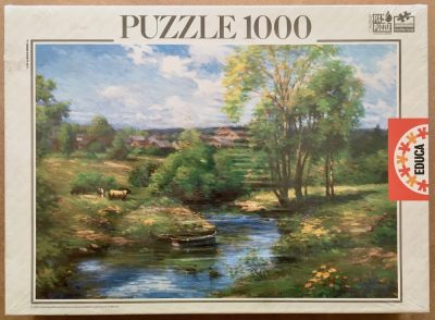 Image of the puzzle 1000, Educa, Peaceful Place, by Ghambaro, Factory Sealed