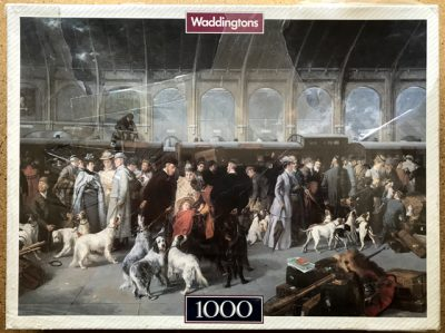 Image of the puzzle 1000, Waddingtons, Going North, George Earl, Factory Sealed, Picture of the box