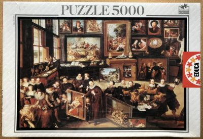 Image of the puzzle 5000, Educa, The Gallery of Cornelis van der Geest, by Willem van Haecht, Factory Sealed