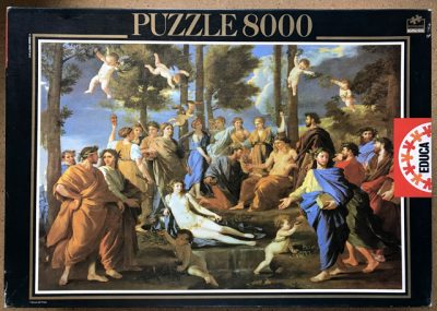 Image of the puzzle 8000, Educa, Le Parnasse, Nicolas Poussin, Sealed Bag