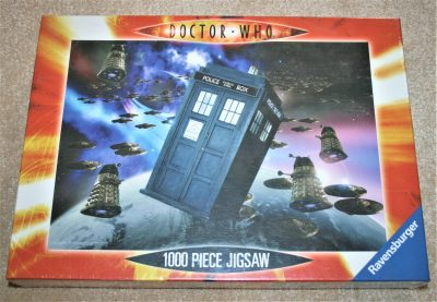 Image of the puzzle 1000, Ravensburger, Doctor Who, TARDIS & the Daleks, Factory Sealed