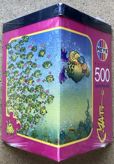 Image of the puzzle 500, Heye, Love Parade, Matt Pritchett, Factory Sealed