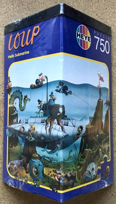 750, Heye, Hello Submarine, by Loup, Factory Sealed, Listed by Eldi