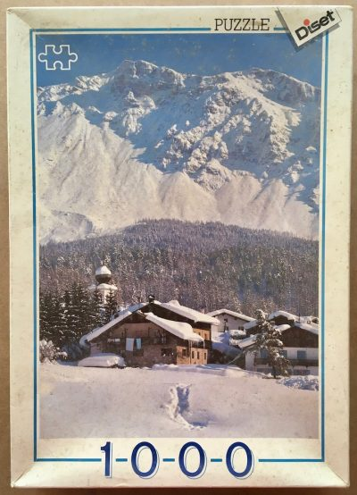 Image of the puzzle 1000, Diset, Tirol, Italy, Complete, Picture of the box