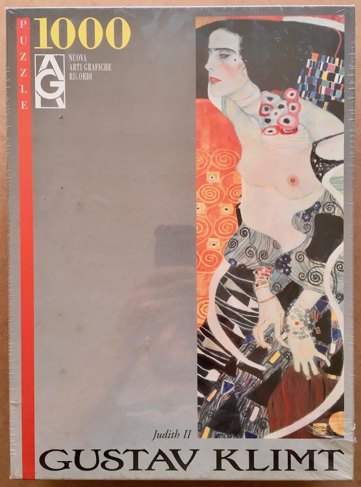 Image of the puzzle 1000, Ricordi, Judith II, by Gustav Klimt, Factory Sealed