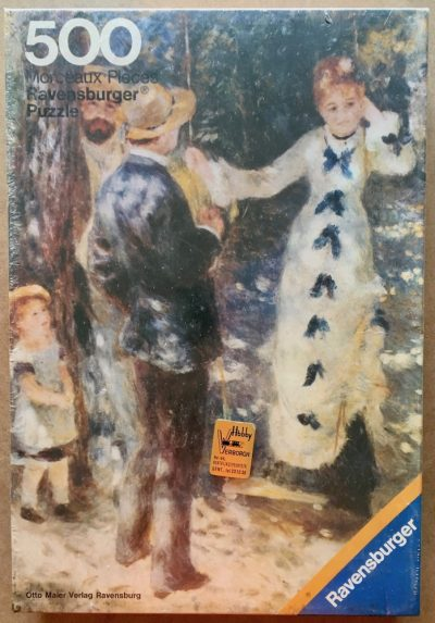 Image of the puzzle 500, Ravensburger, The Swing, by Auguste Renoir, Factory Sealed