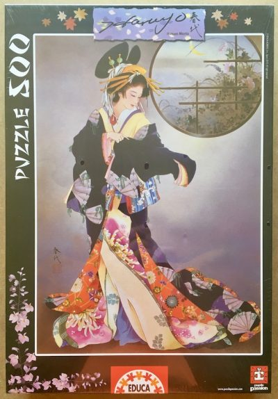 Image of the puzzle 500, Educa, Tsukiakari, by Haruyo Morita, Factory Sealed