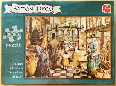 Image of the puzzle 1000, Jumbo, The Bakery, by Anton Pieck, Complete, Picture of the box