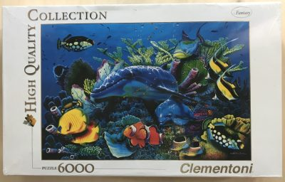 Image of the puzzle 6000, Clementoni, Mother Miracle, Christian Riese Lassen, Factory Sealed