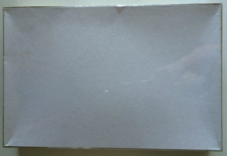 Image of the puzzle 1000, F. X. Schmid, LA Shake and Bake, by John Holladay, Factory Sealed, Picture of the back